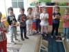 Ćwiczenia gimnastyczna z woreczkami w oddziale II