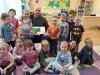 Czytanie literatury dziecięcej w ramach projektu - oddział I
