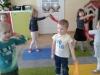 Gimnastyka z szarfami w oddziale II