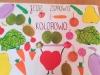 Jedz zdrowo i kolorowo-plakat eTwinning