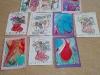 Kartki świąteczne w ramach projektu eTwinning Art With Tiny Hands