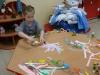 Łańcuch na choinkę - zajęcia plastyczne