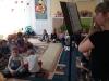 Mini koncert w wykonaniu absolwentek przedszkola
