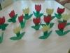 Tulipan - prac plastyczna oddział II